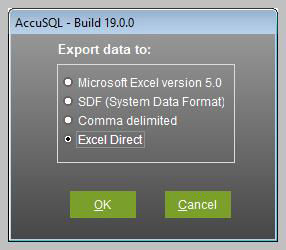 Reports Center - Export Formats